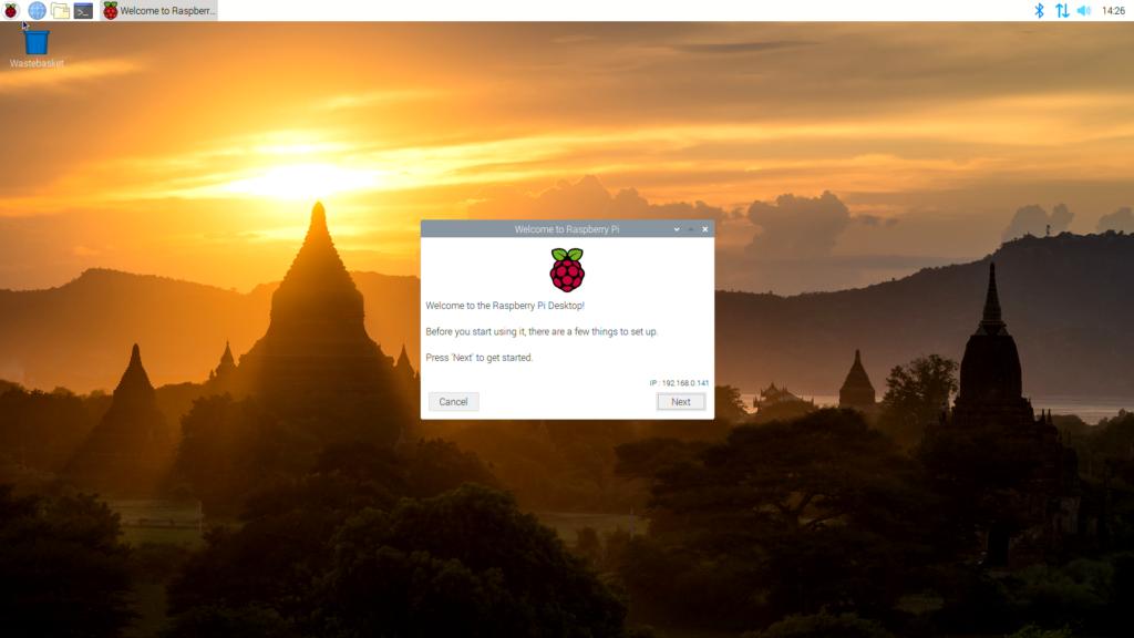 Configurazione Raspbian Raspberry Pi